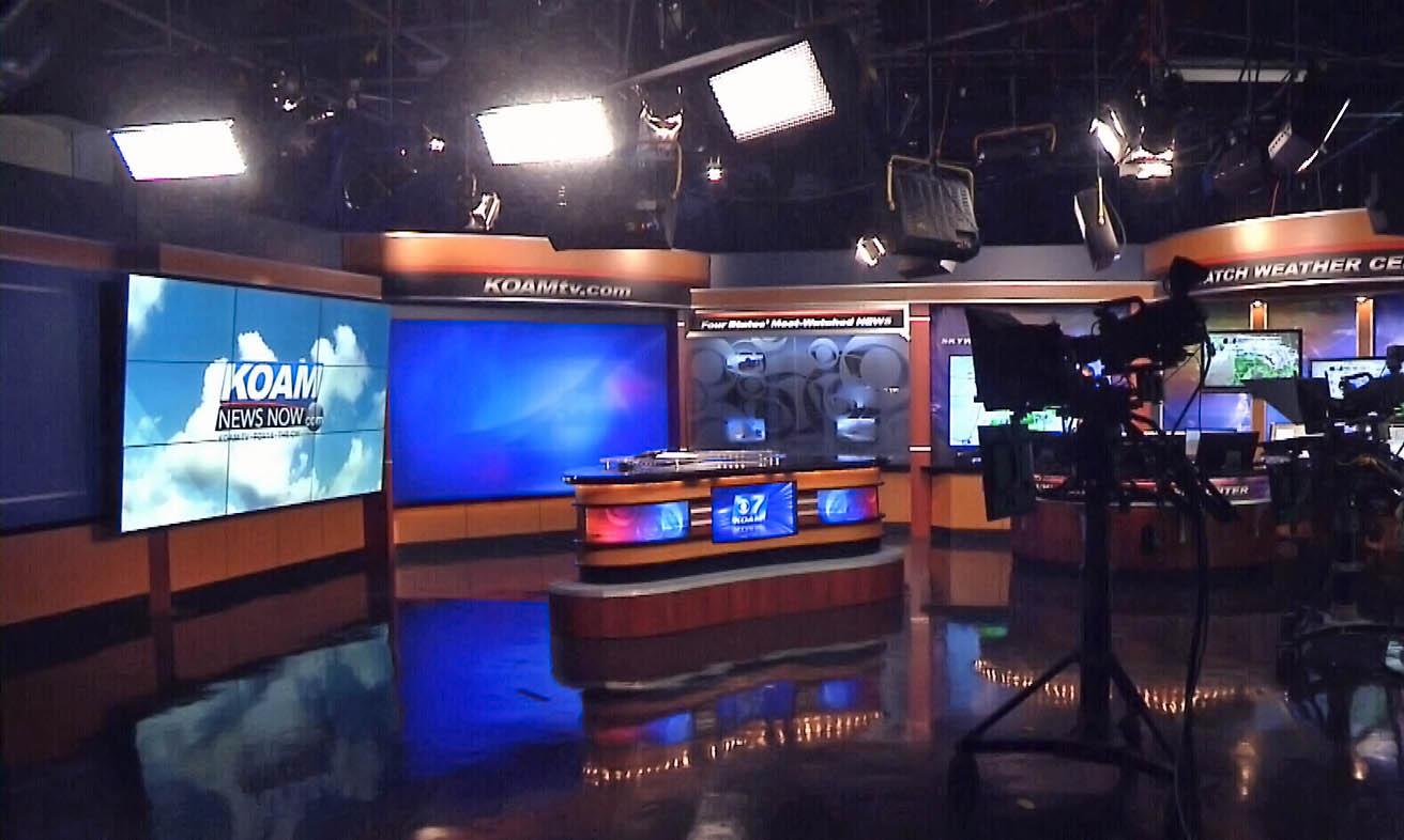 KOAM News live streaming studio