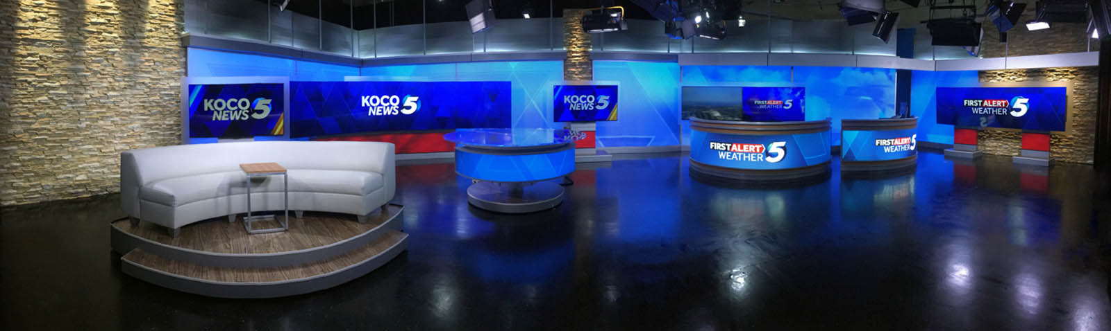 KOCO 5 News studio