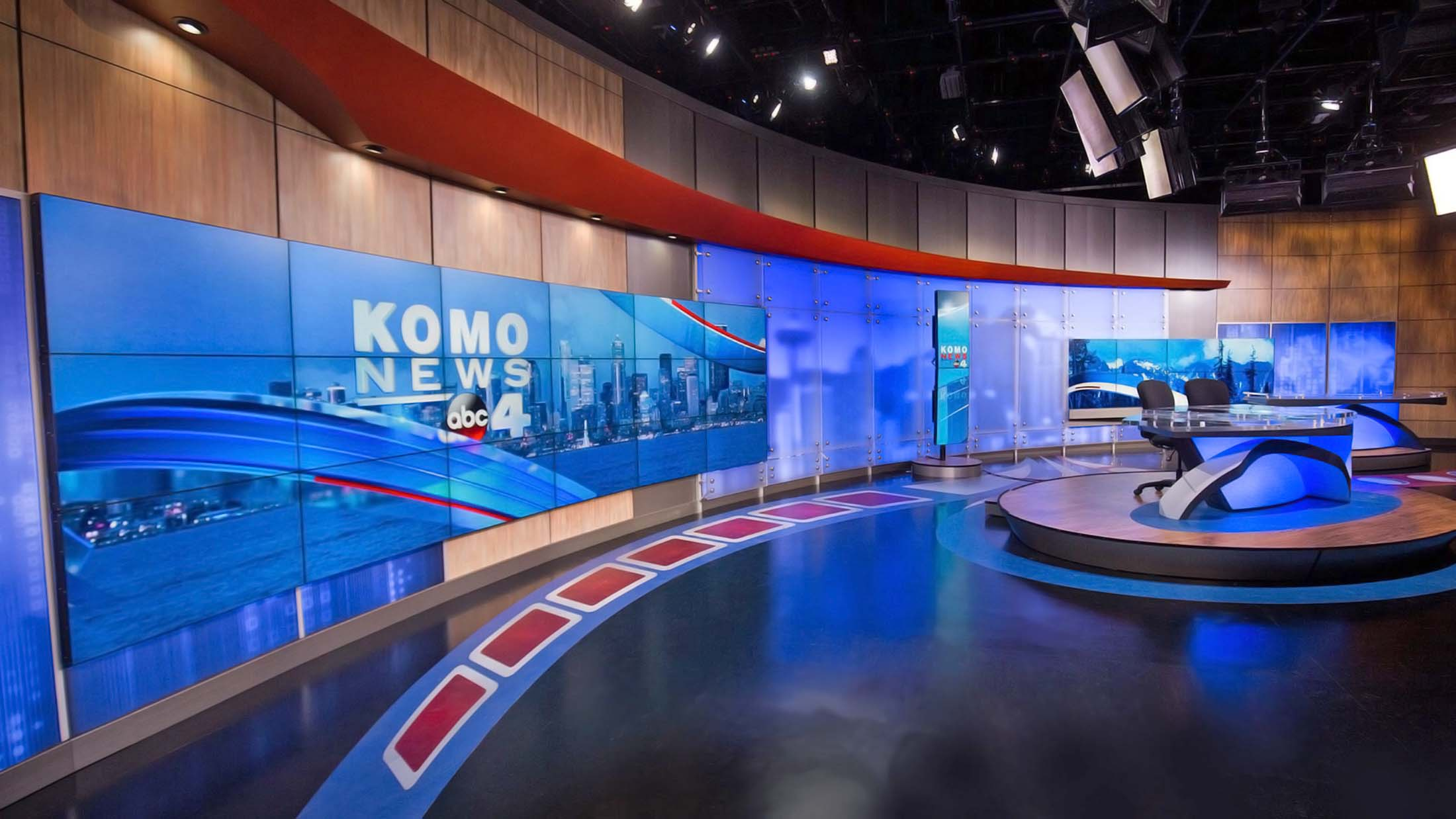 KOMO 4 News On-Air Studio