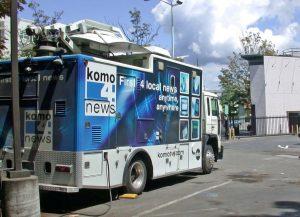 KOMO 4 News truck