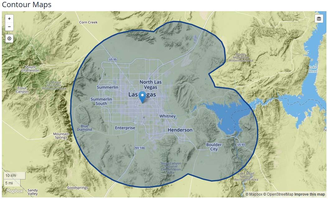 KSNV coverage map
