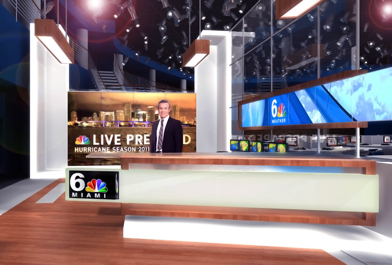 NBC Miami News Live Studio