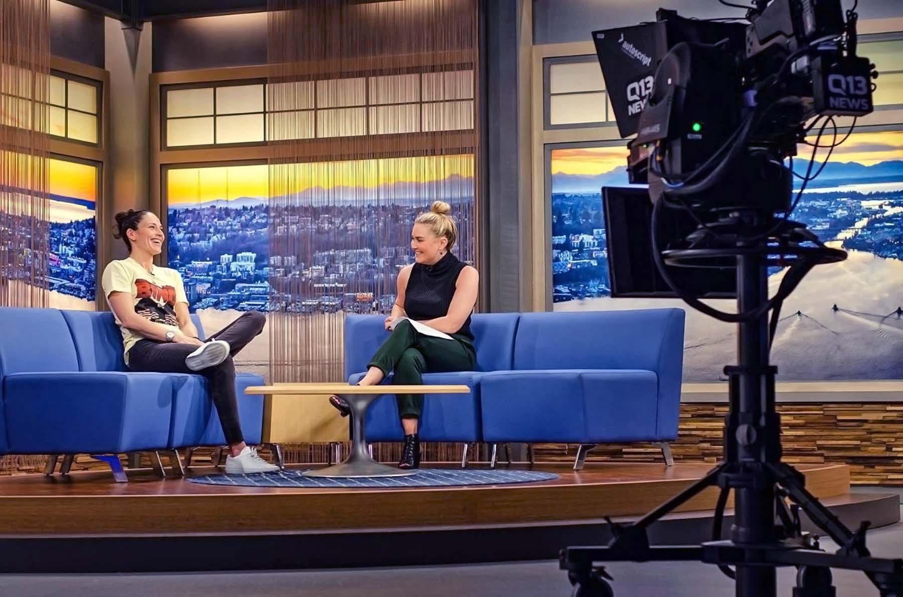 Q13 Fox Program with guest