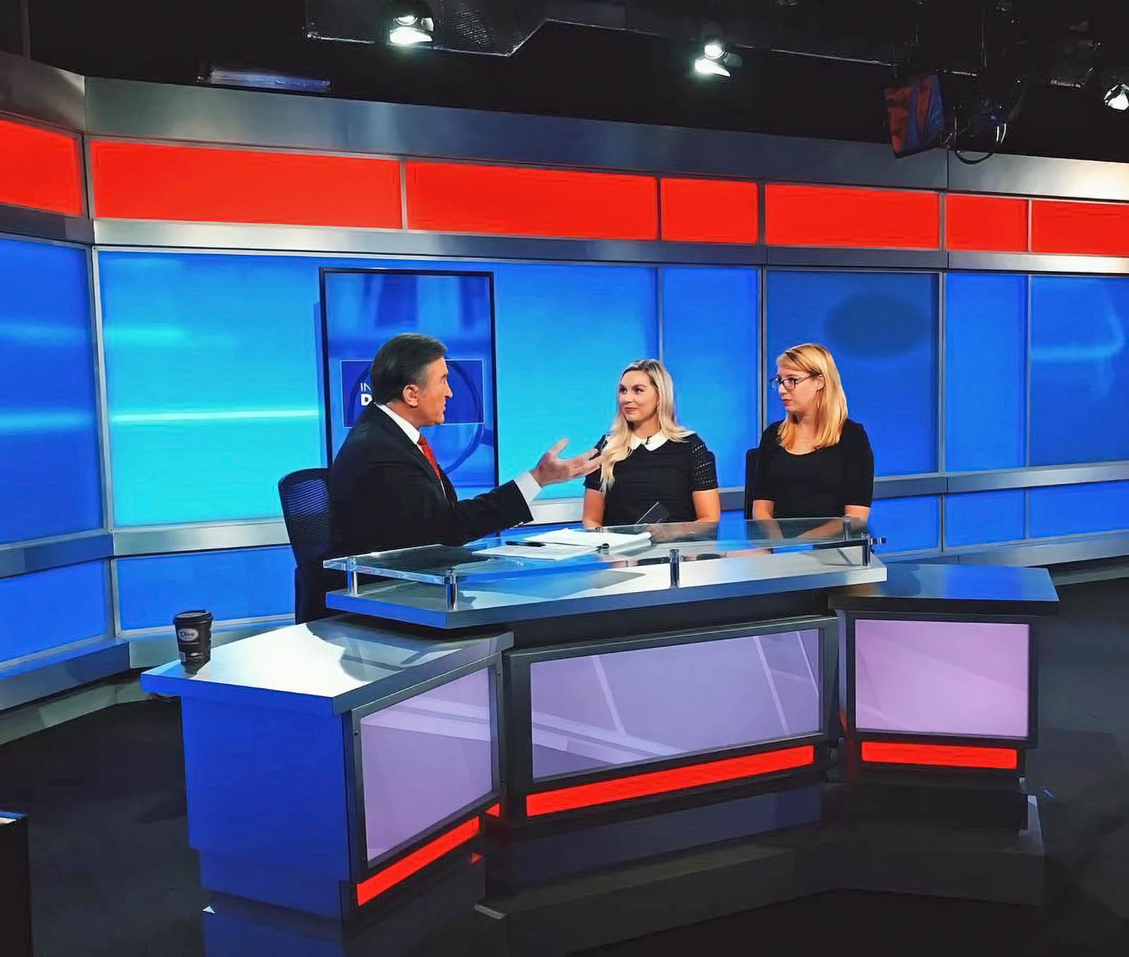 Spectrum Bay News 9 St. Petersburgh newscasters