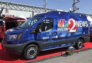 Channel 2 News Orlando News Van