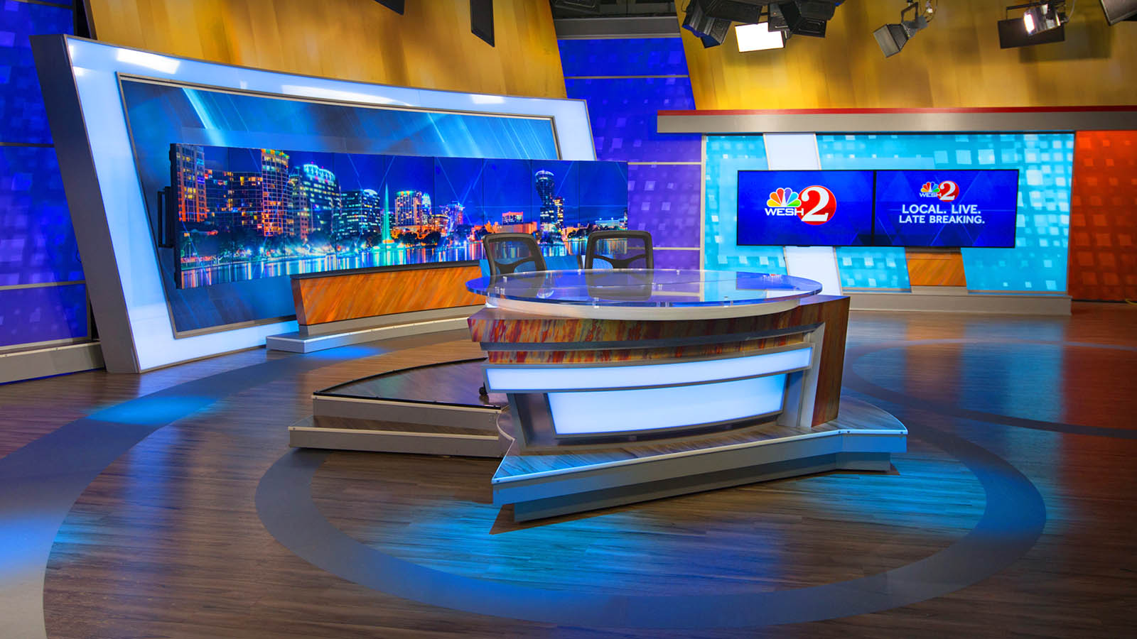 WESH 2 News Orlando studio