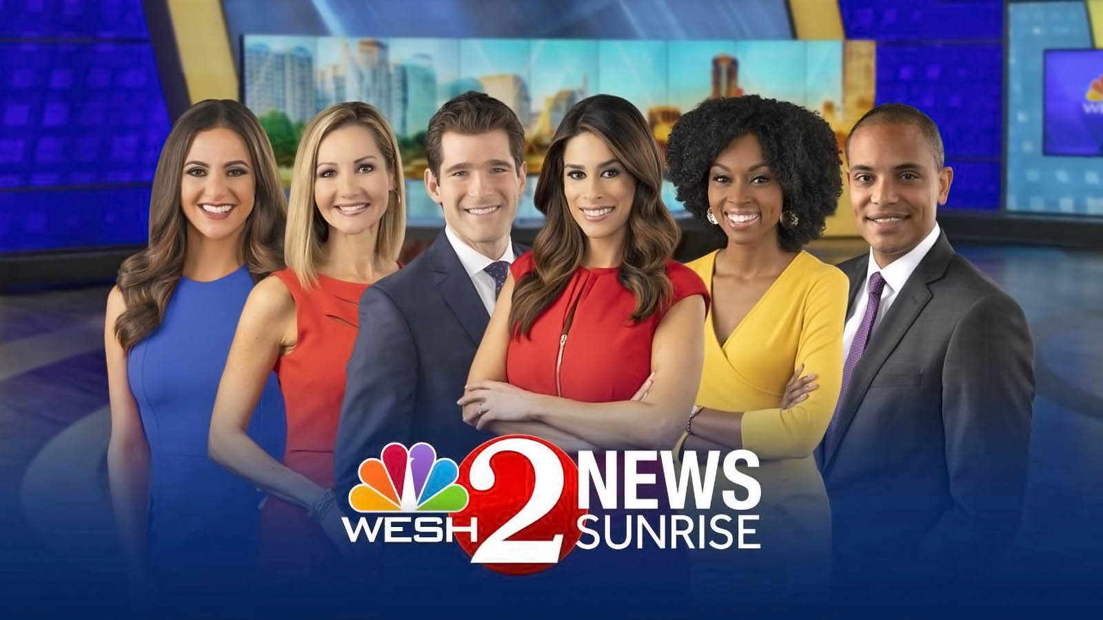 WESH 2 News Orlando sunrise team
