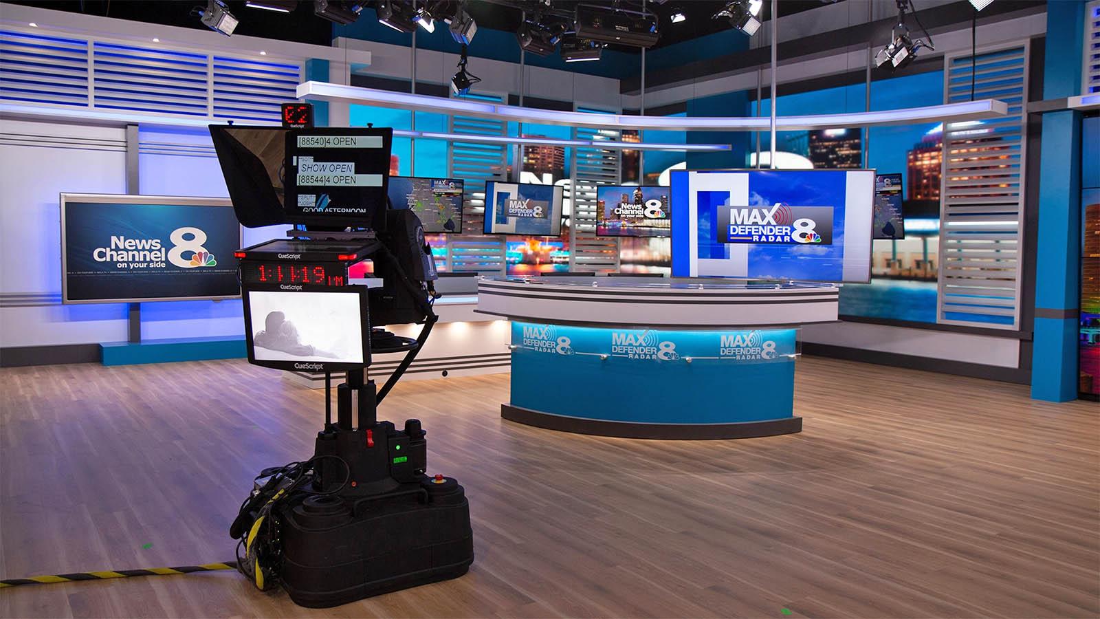 WFLA News Channel 8 studio