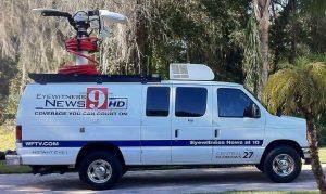 WFTV News Live News Van