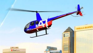 WJAX TV news helicopter