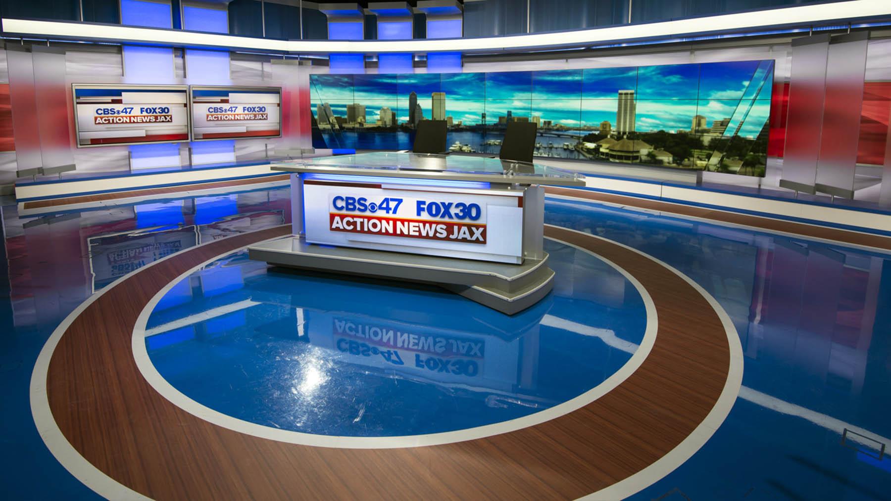 WJAX TV Live Studio
