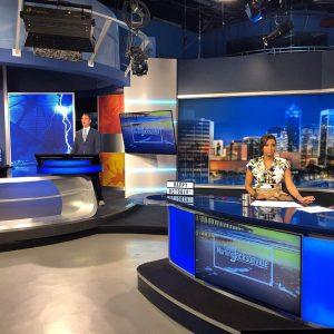 WTLV 12 News anchors on set