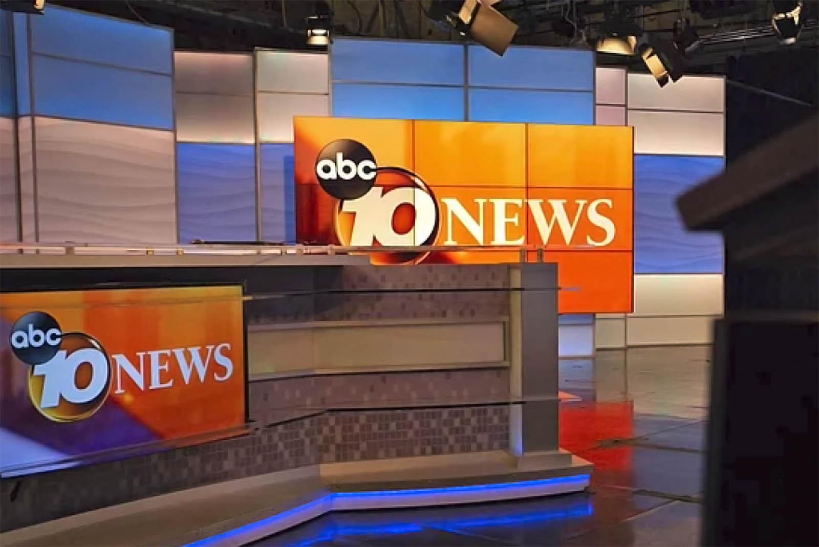 10 News San Diego live streaming studio
