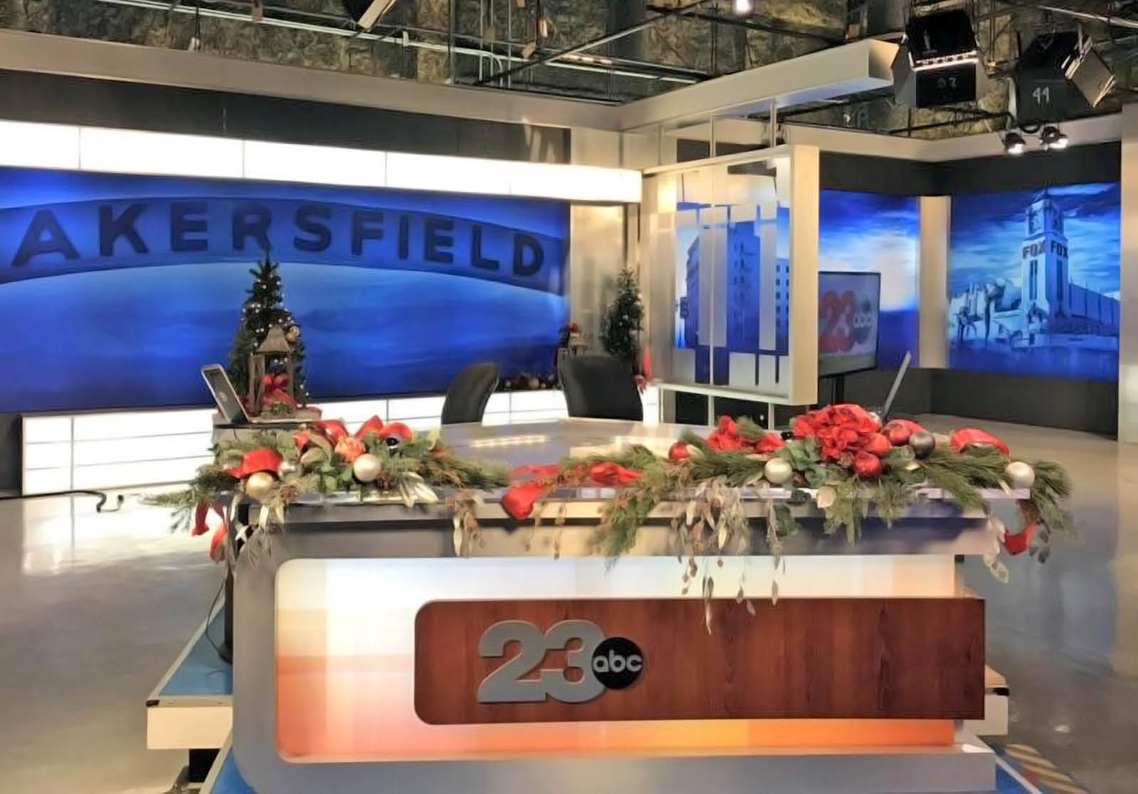23 ABC News Bakersfield live streaming studio