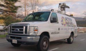 ABC30 News Fresno Live Coverage Truck