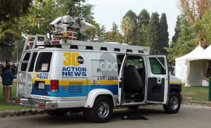 Channel 30 Fresno Satellite Van