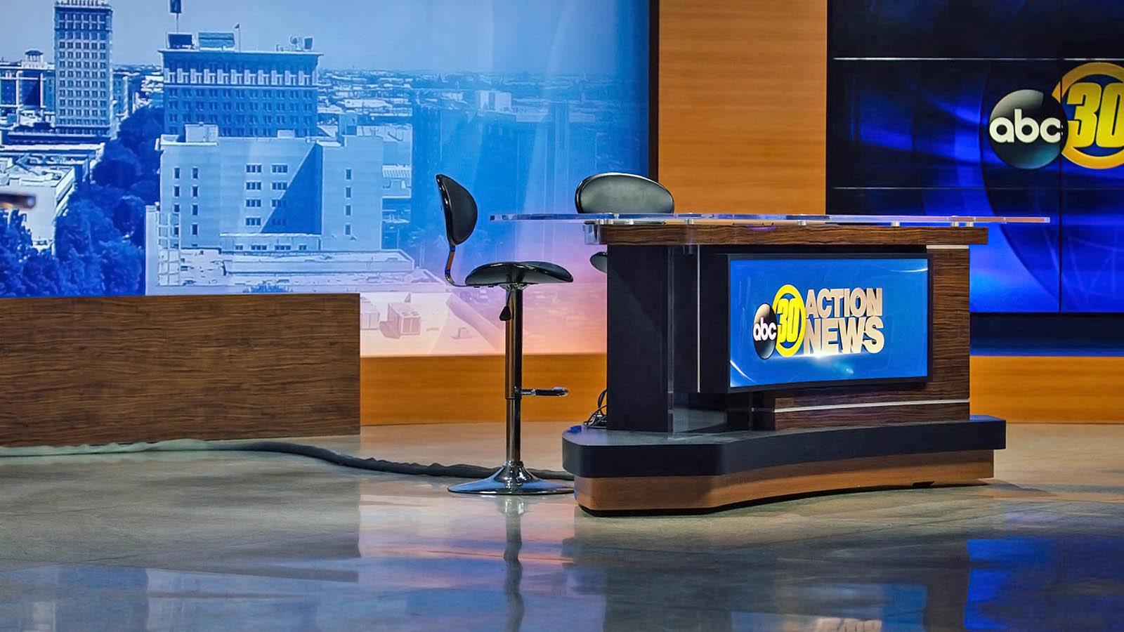 ABC 30 News Fresno studio