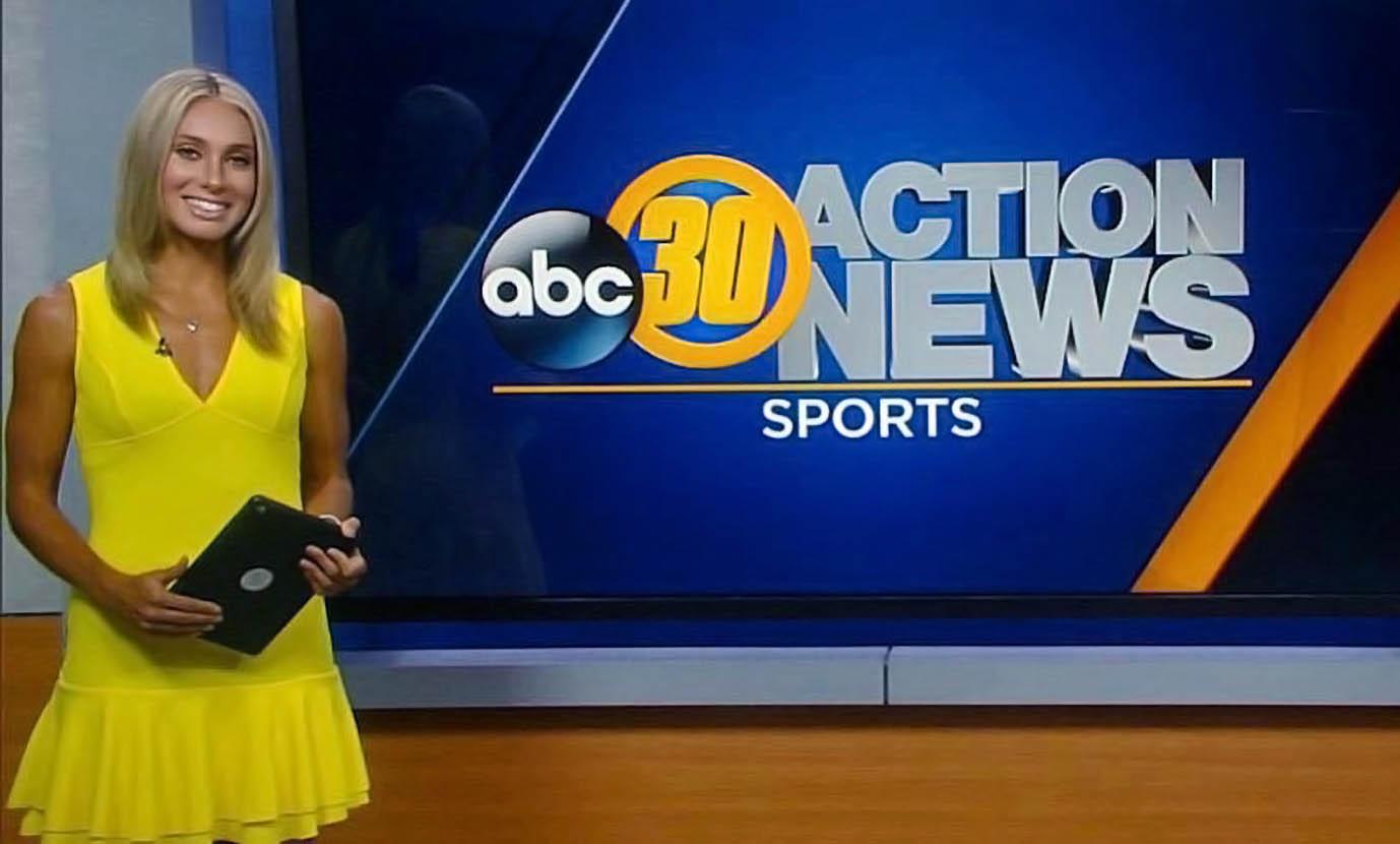 Brianna Mellon at ABC30 News Fresno