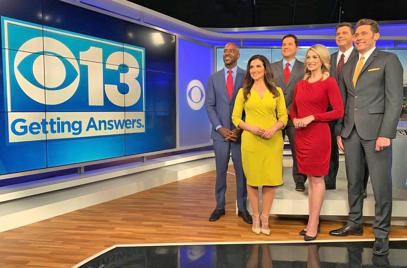 CBS 13 Sacramento live streaming anchors
