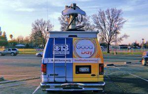 CBS 13 Sacramento news van