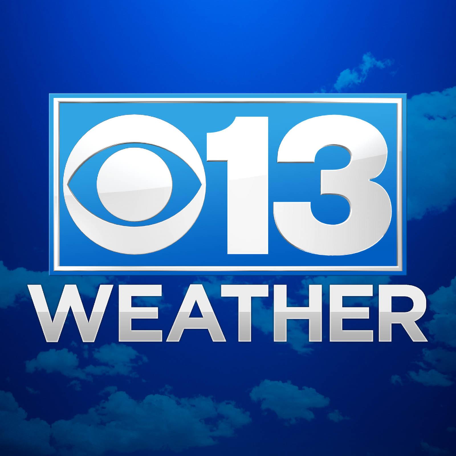 CBS 13 Sacramento weather logo