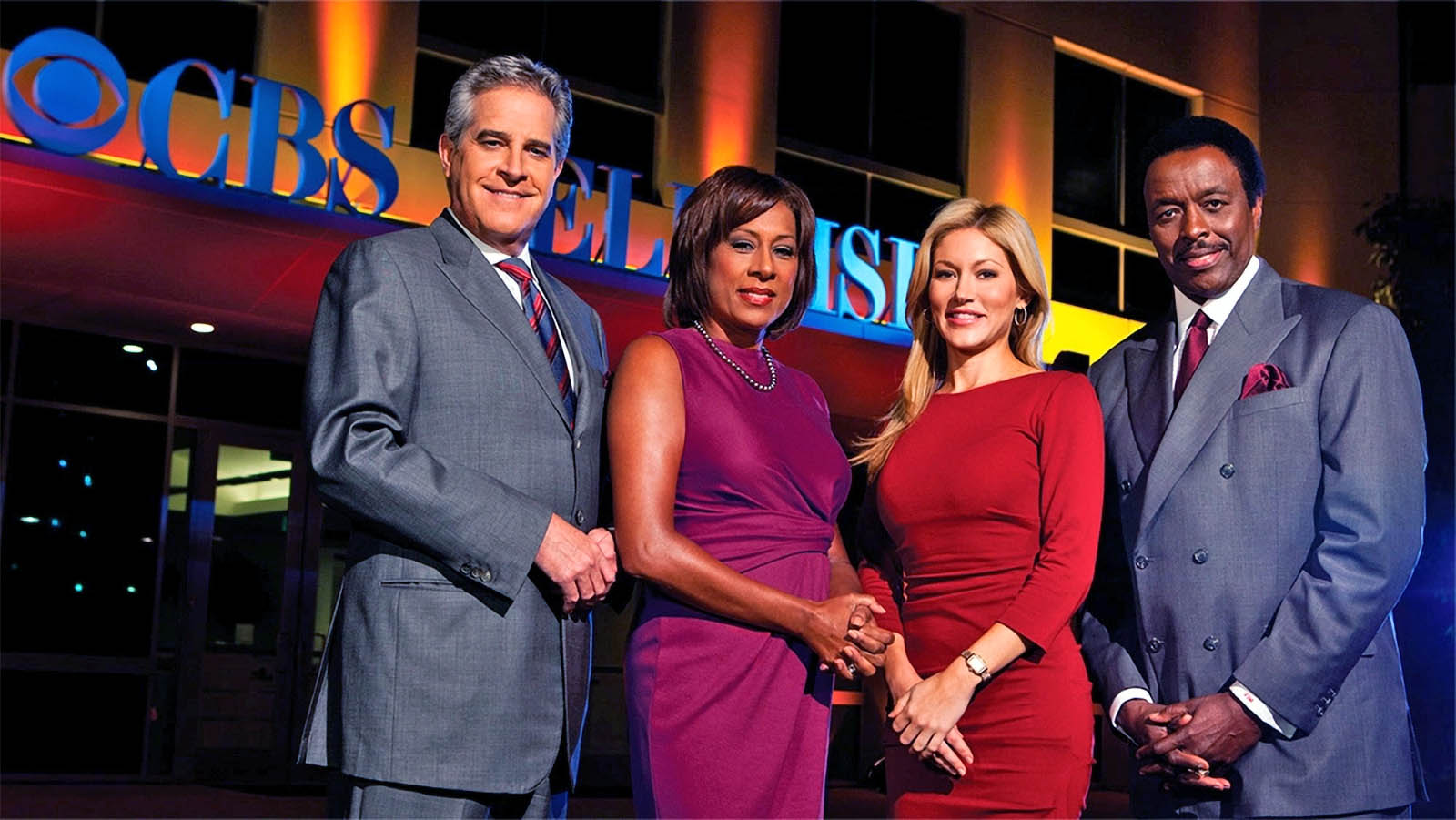 CBS Los Angeles news team