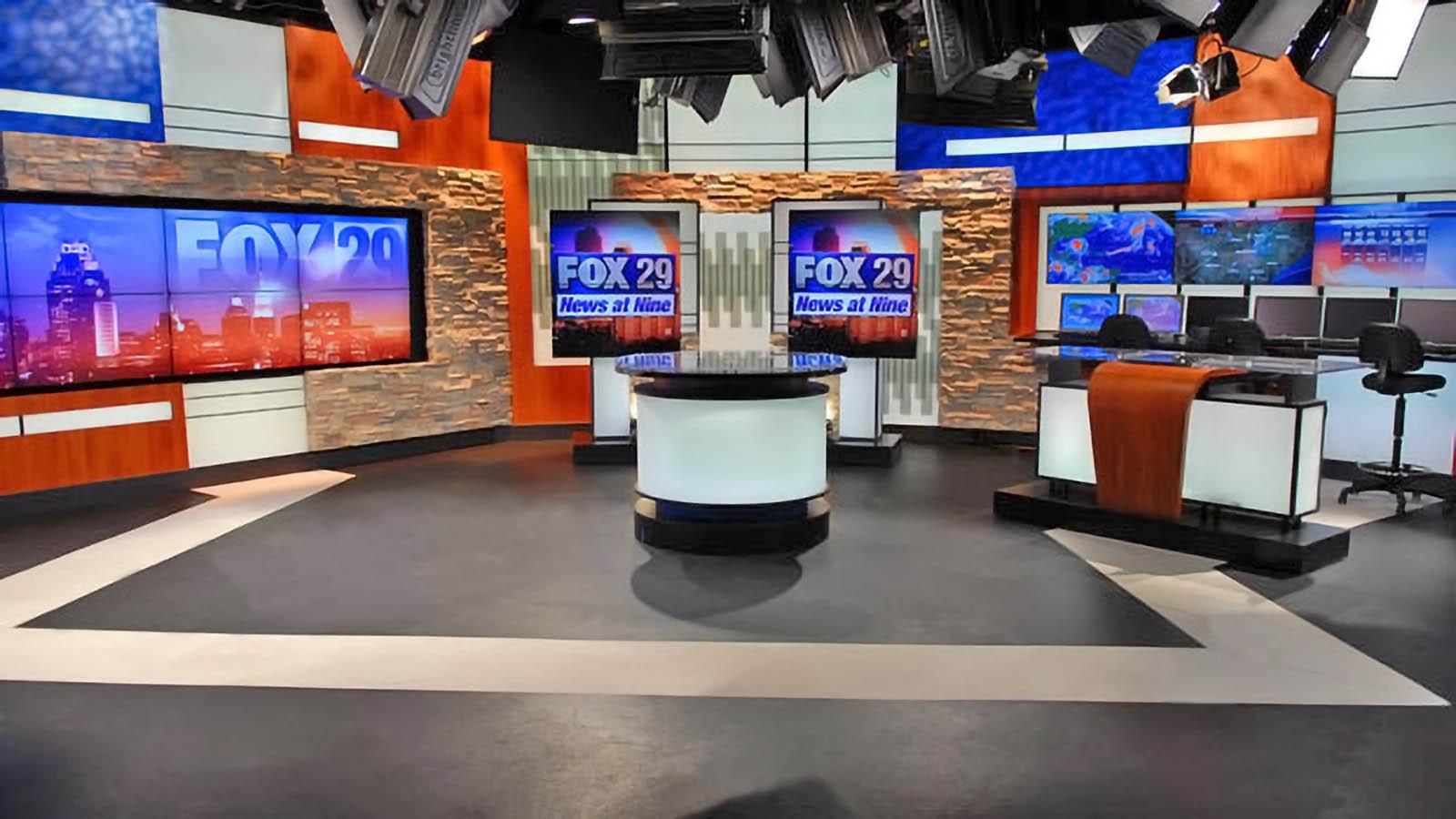 Fox 29 News San Antonio live streaming studio