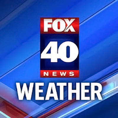 Fox 40 News Sacramento weather logo