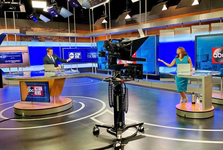 James Tully and Deiah Riley at ABC Action News