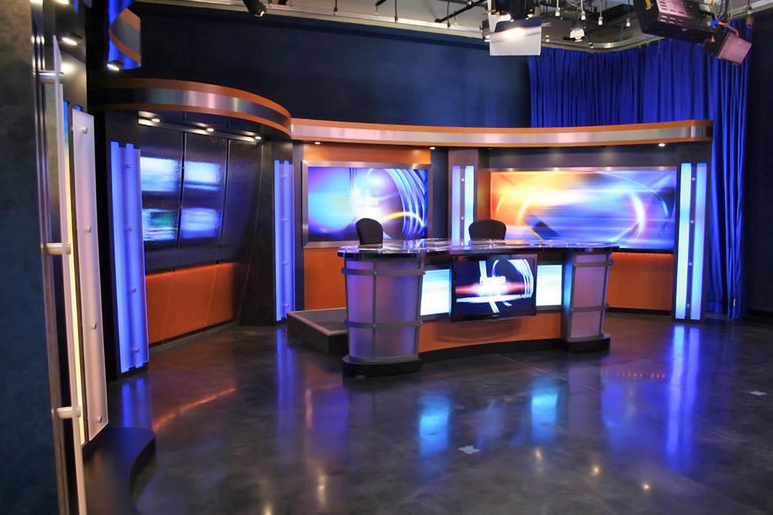 KBAK TV studio