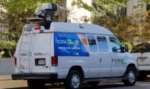 KCRA 3 News satellite van
