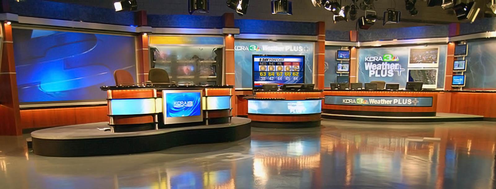 KCRA 3 News studio