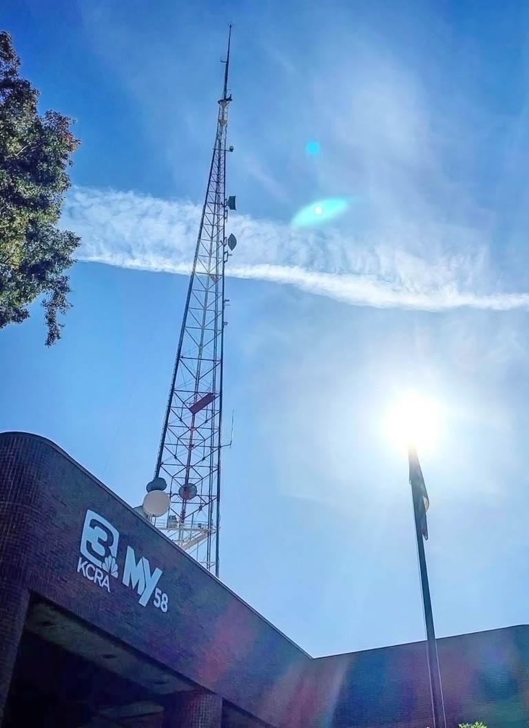 KCRA 3 News tower