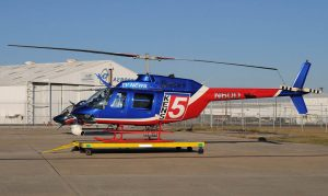 Sky chopper for KENS 5 News San Antonio news helicopter
