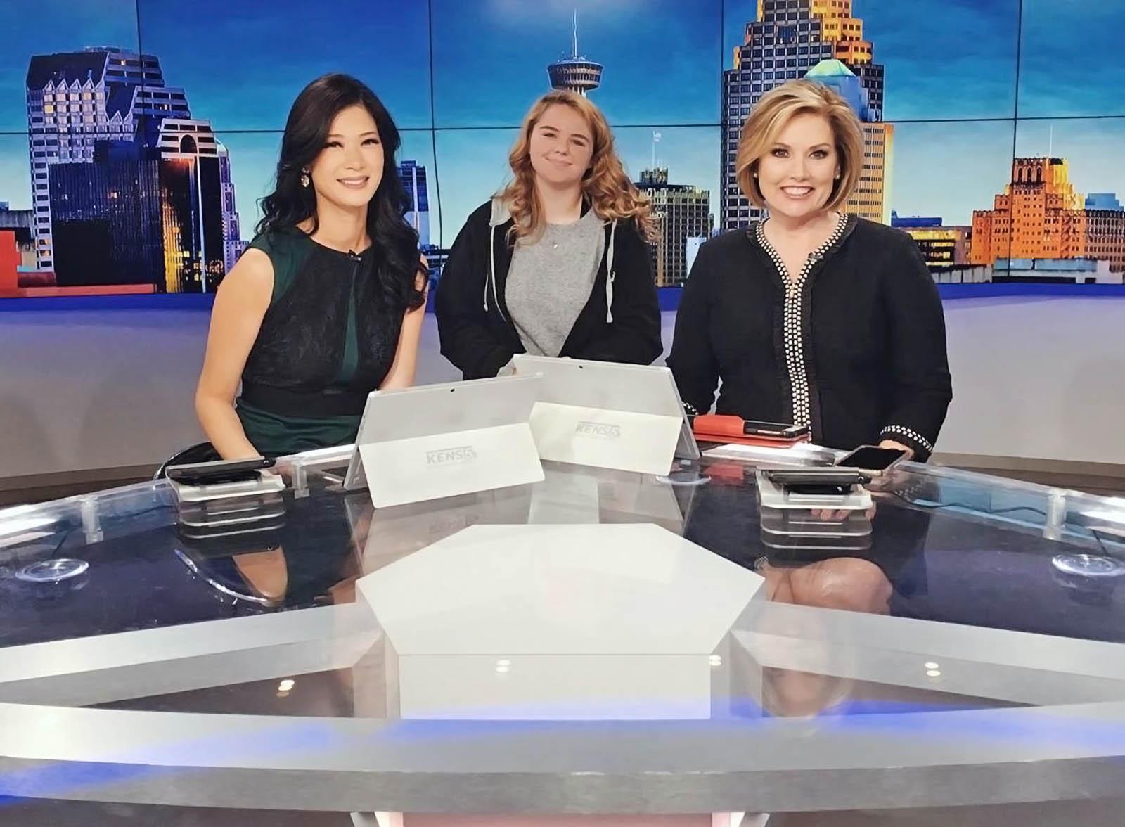 KENS 5 News San Antonio newscasters