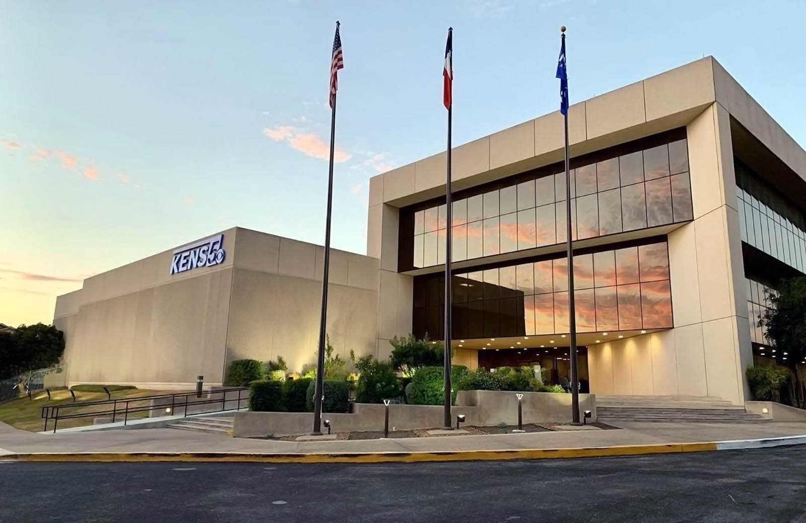 KENS 5 News live streaming building