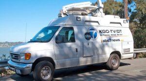 News Van of ABC 7 San Francisco