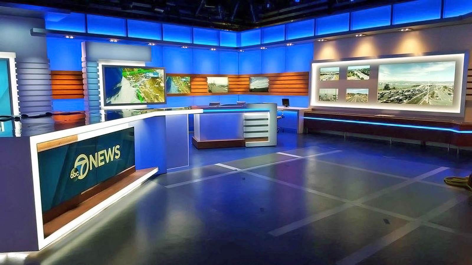 KGO TV News San Francisco Studio