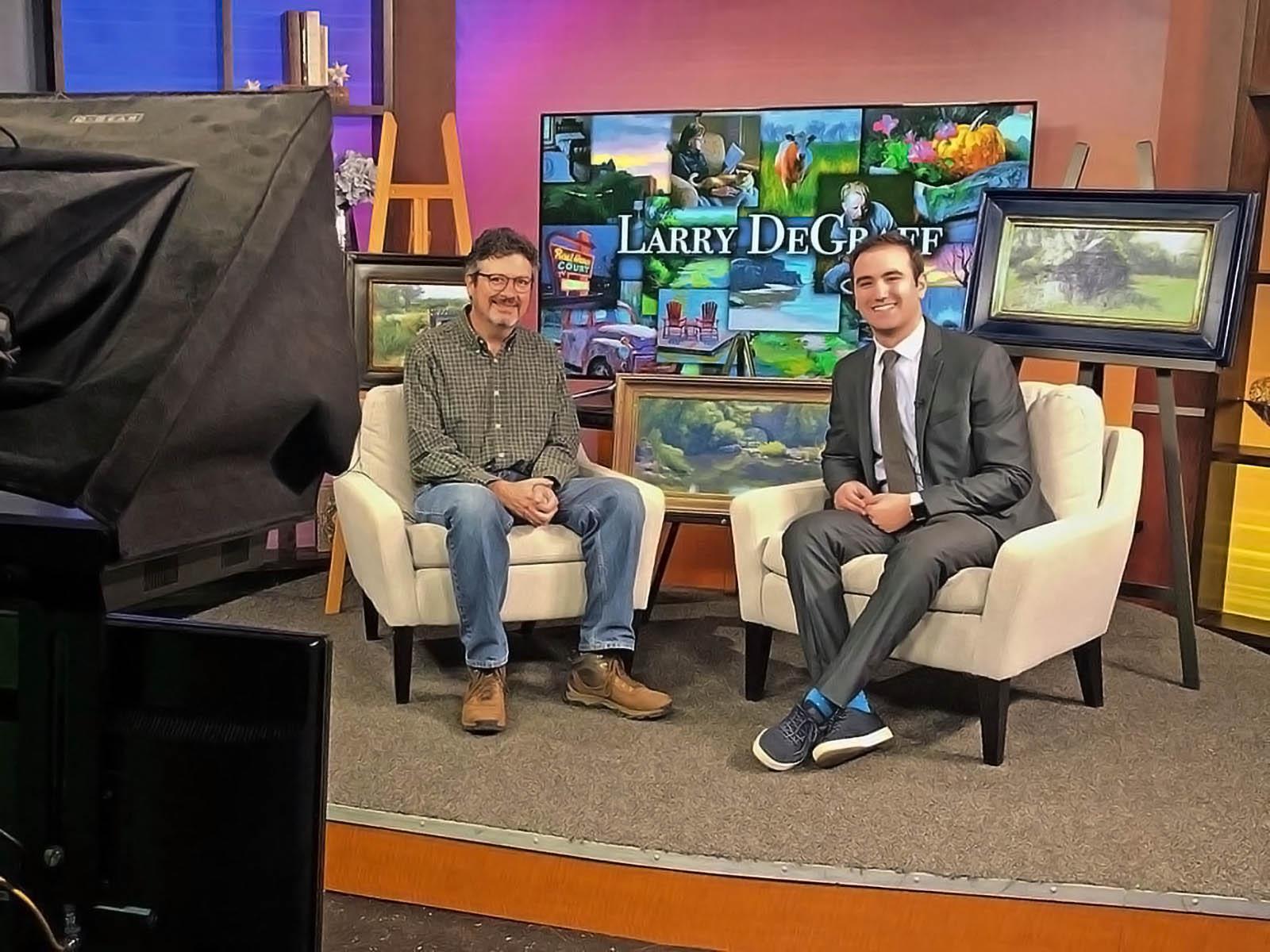 KOAM News interview set