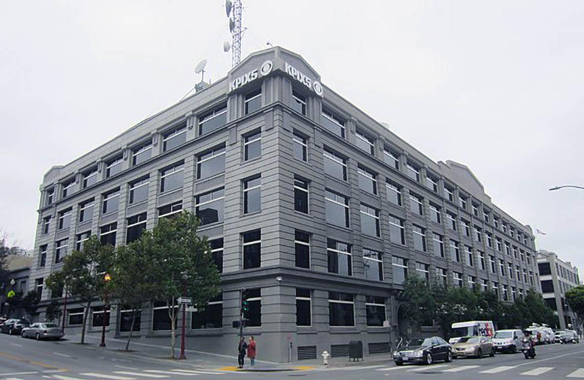 KPIX 5 News San Francisco building