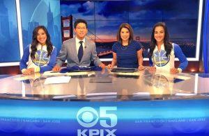 KPIX 5 News San Francisco news team