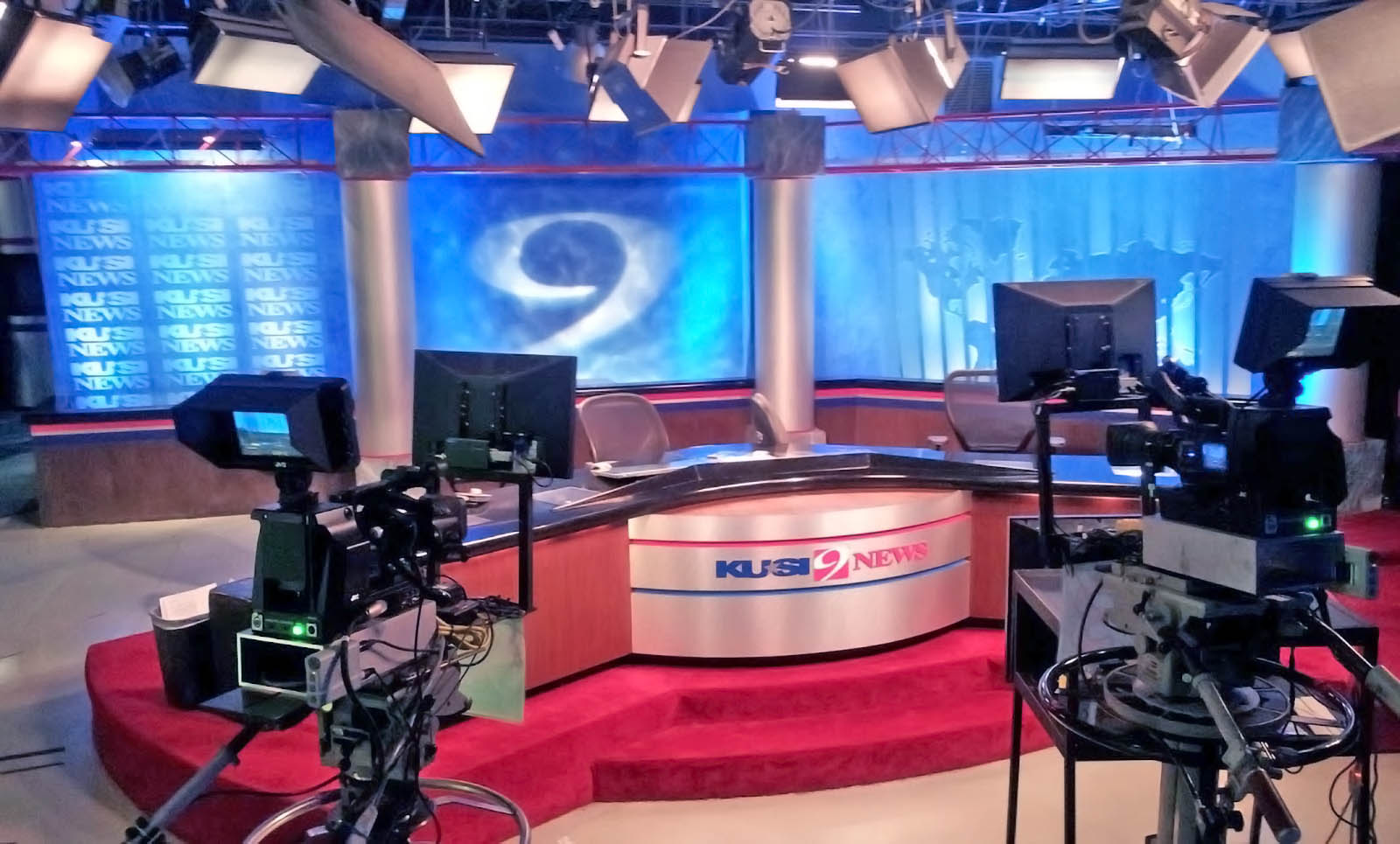 KUSI News studio
