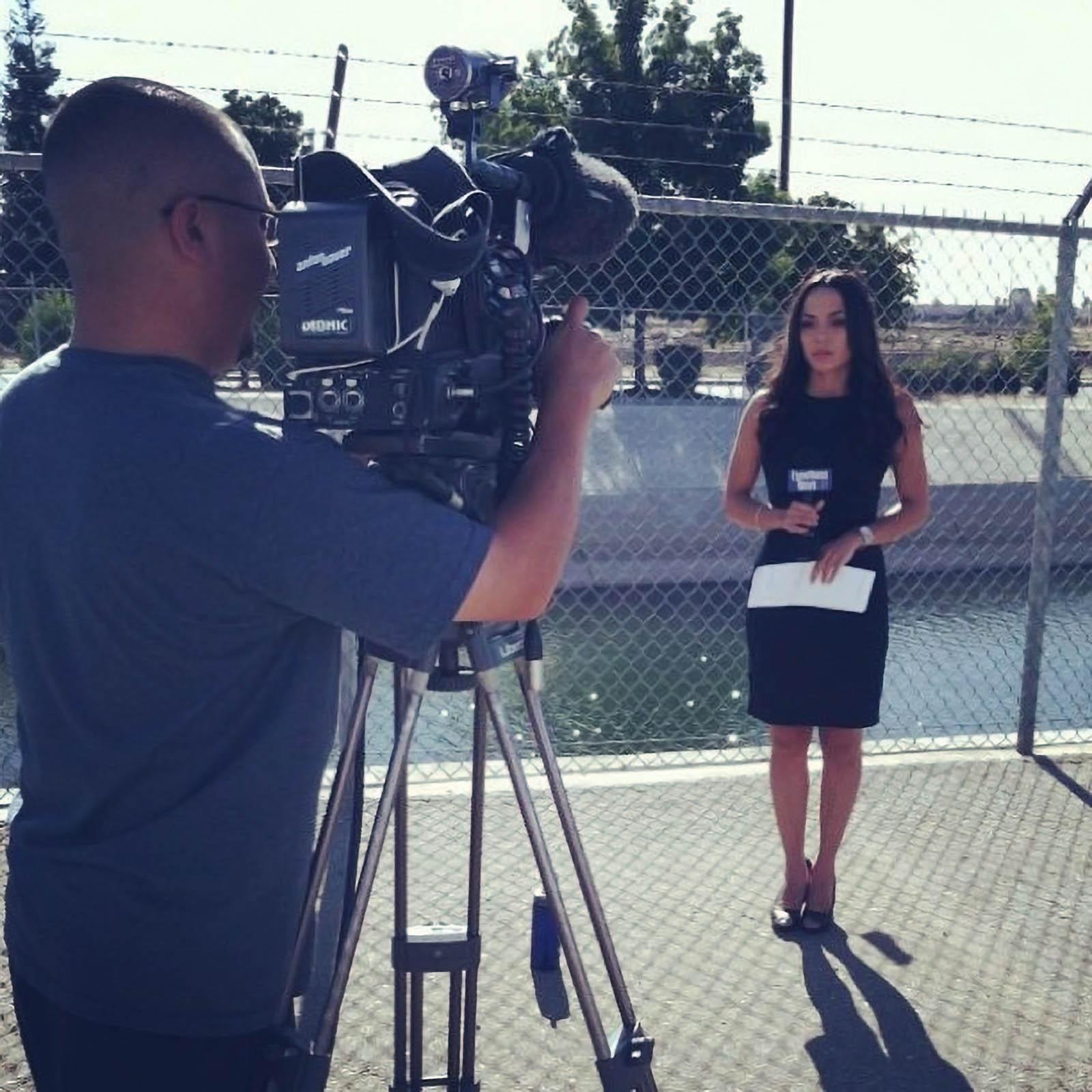 Kyndell Kim reporting for KBAK TV