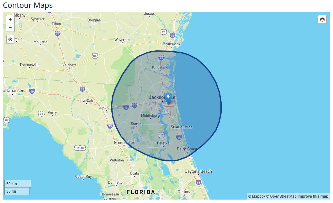 News4JAX Jacksonville coverage map