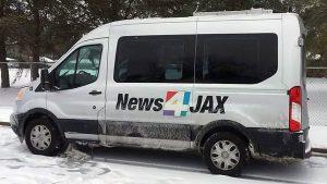 News4JAX Jacksonville weather van