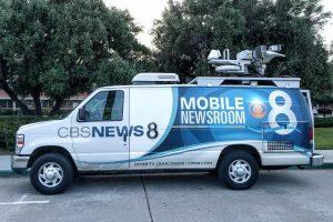 News 8 San Diego news van