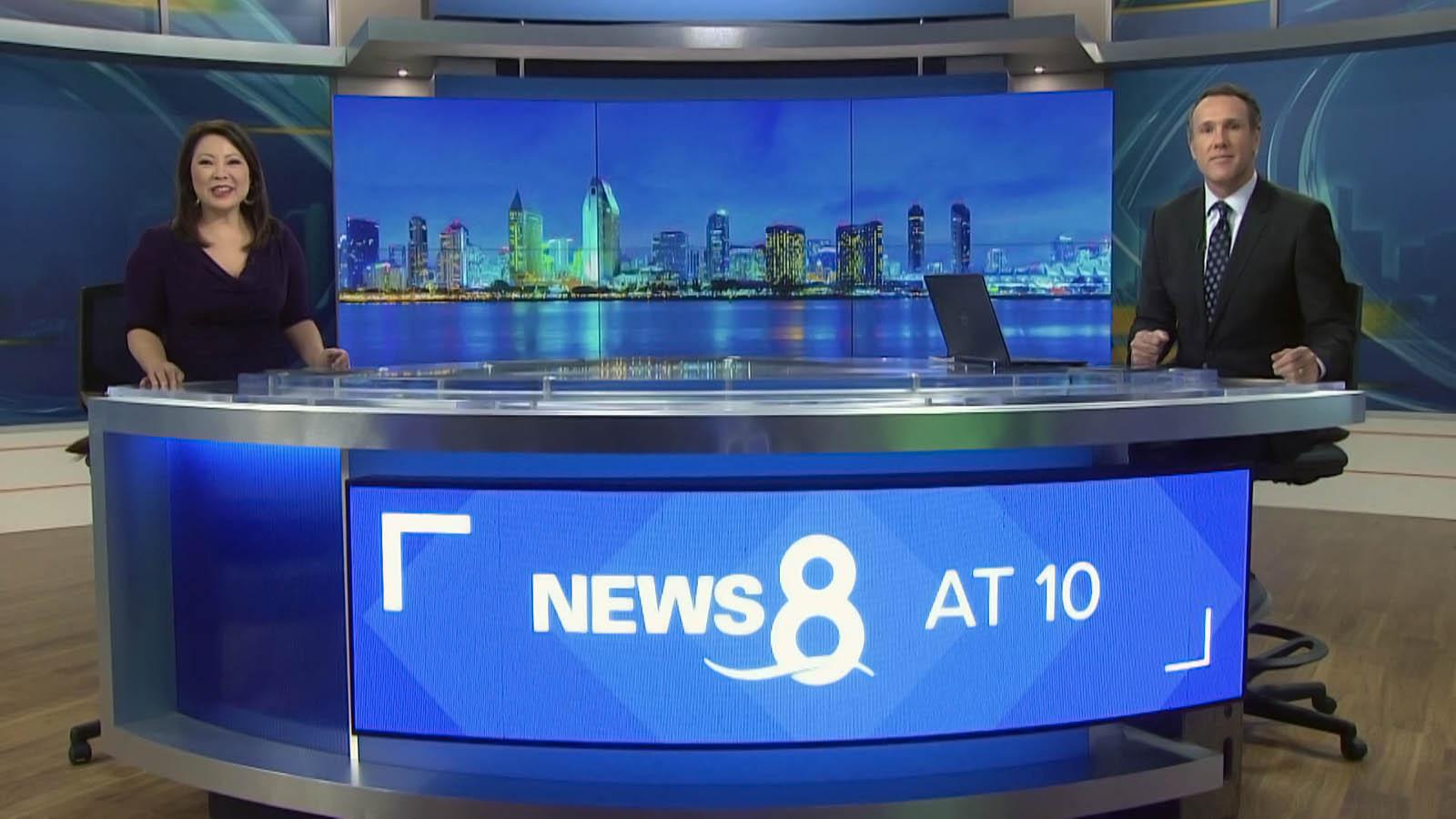 News 8 San Diego newscasters