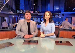 Razmik Cañas with Gia Vang at KMPH Fox 26 News live