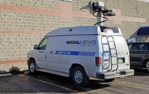 WGN 9 News Weather Truck