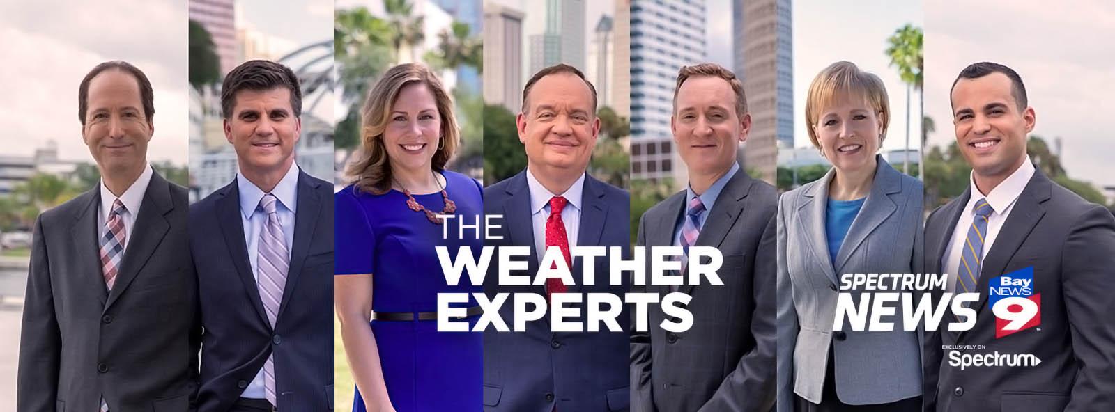 Spectrum Bay News 9 St. Petersburgh weather team